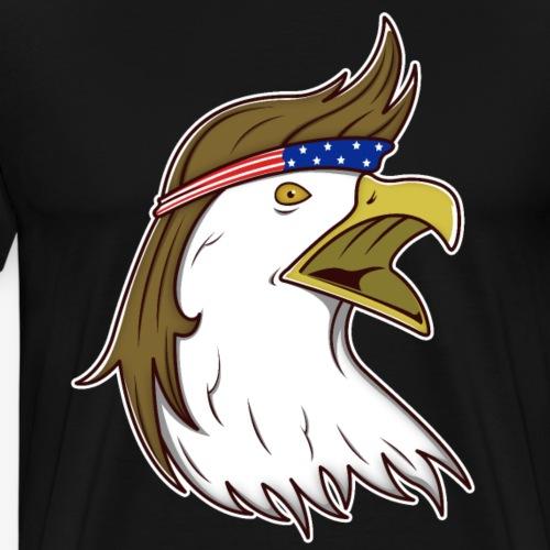 Patriotischer USA Adler - Männer Premium T-Shirt