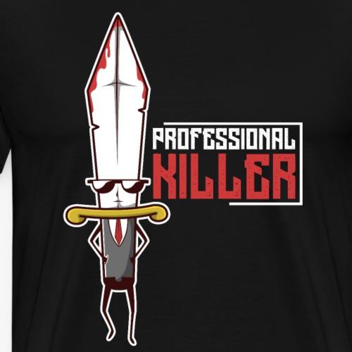 Professional Killer Schwert - Männer Premium T-Shirt