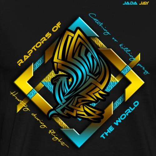 Raptors of the world - Männer Premium T-Shirt