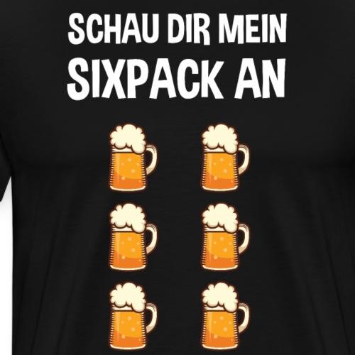 Sixpack Oktoberfest Bier Spruch