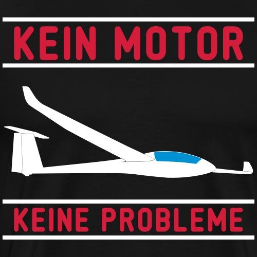Lustiger Segelflieger Spruch für dein T-Shirt - Männer Premium T-Shirt