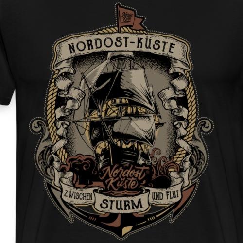 Anker Segelschiff - Männer Premium T-Shirt