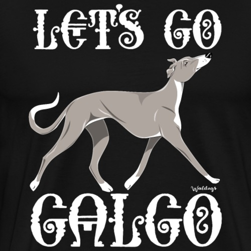 Galgo Go 5 - Men's Premium T-Shirt