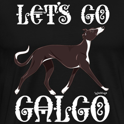 Galgo Go 4 - Men's Premium T-Shirt