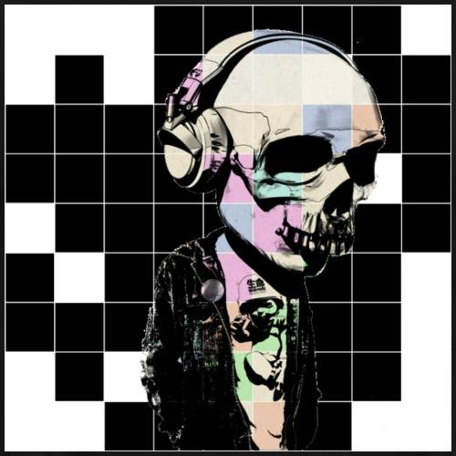 La musica fino alle ossa - Maglietta Premium da uomo
