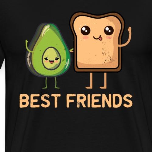 Avocado-Toast Shirt für Avocado-Liebhaber - Männer Premium T-Shirt
