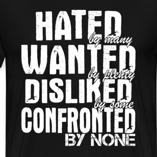 witzig cooler frecher Spruch T Shirt Geschenk - Männer Premium T-Shirt