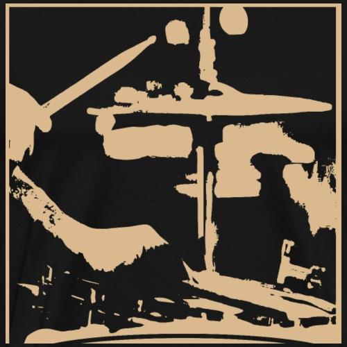 Schlagzeuger - Männer Premium T-Shirt