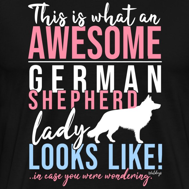 GSD Awesome Lady LH