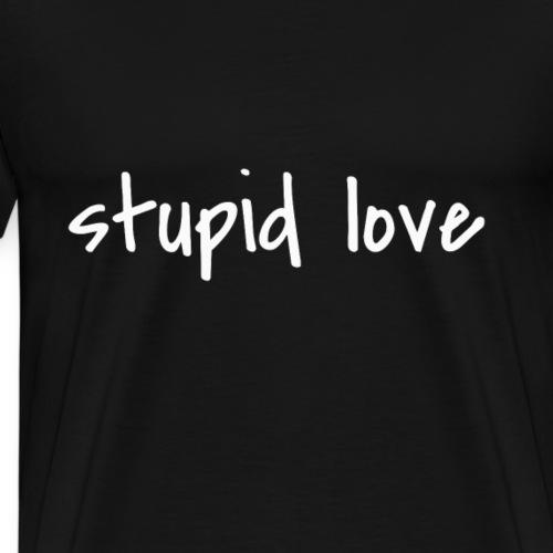 T-Shirt für Verliebte die abgehen und durchdrehen - Männer Premium T-Shirt