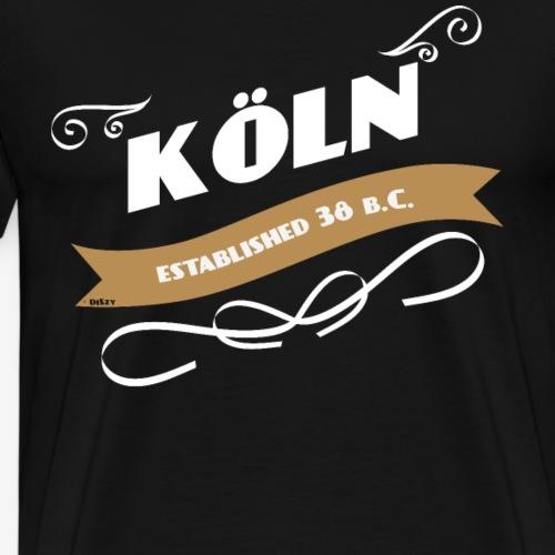 Vintage Köln established 38 b.C. Retro Geschenk - Männer Premium T-Shirt