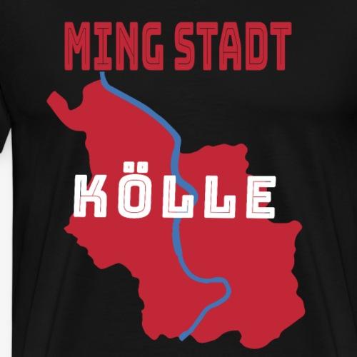 Ming Stadt Kölle Geboren in Köln Kölsch - Männer Premium T-Shirt