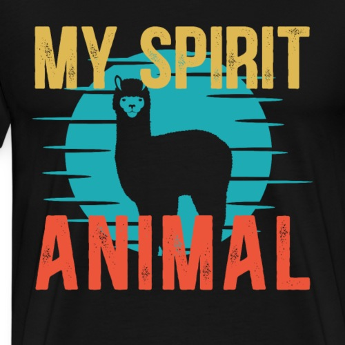MY SPIRIT ANIMAL ALPACA - Männer Premium T-Shirt