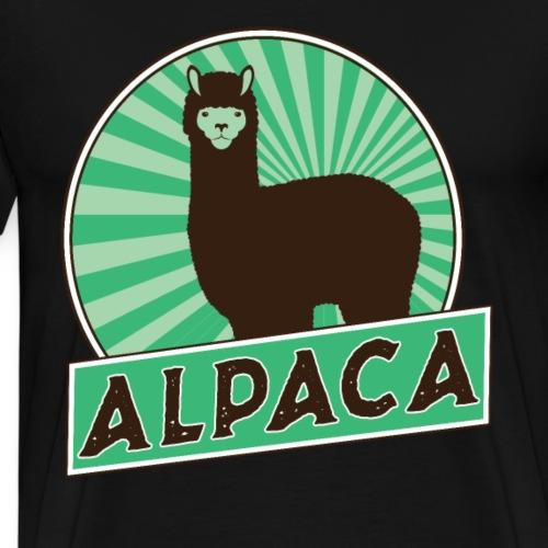 ALPACA - Männer Premium T-Shirt