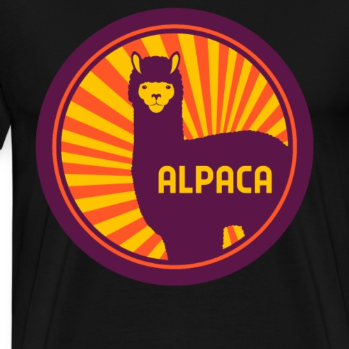 ALPACA ALPAKA - Männer Premium T-Shirt