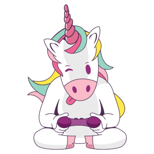 rainbow Gaming unicorn einhorn spielen