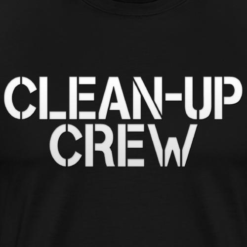 Clean-Up Crew Logo 2 - Men's Premium T-Shirt