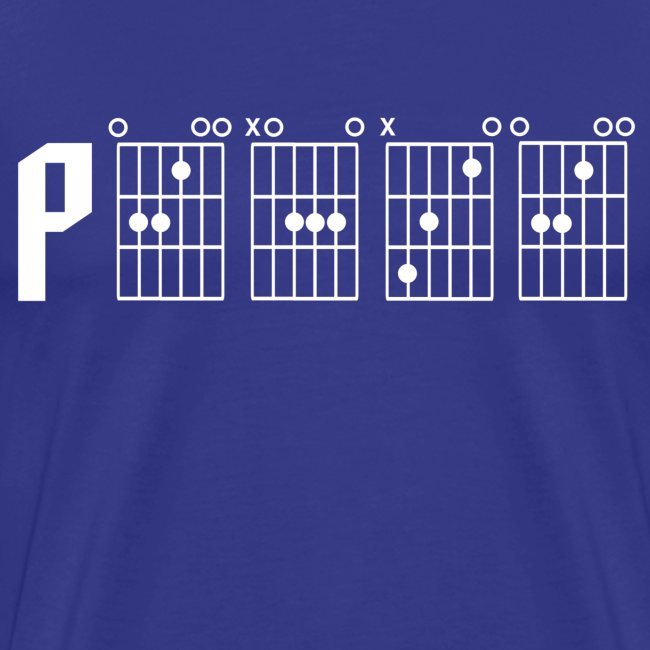 Peace through the power of a guitar chord