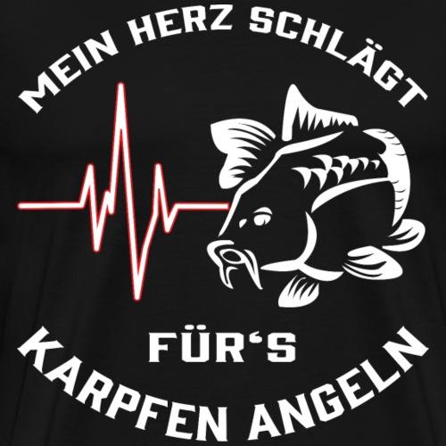 Karpfen Angeln - Männer Premium T-Shirt