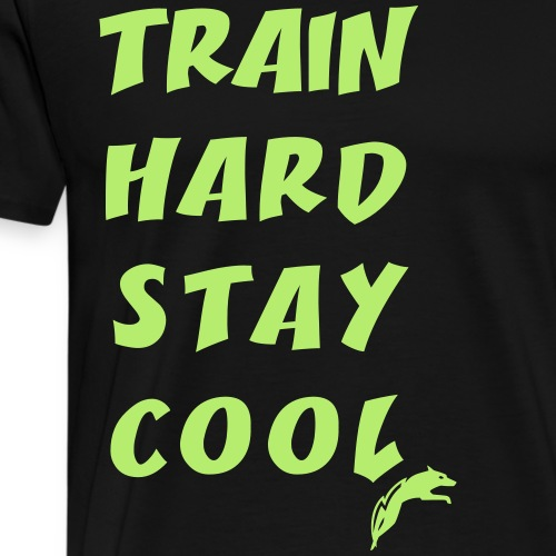TrainHardStayCool - Männer Premium T-Shirt