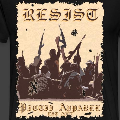 PICTRESIST - 4B - Men's Premium T-Shirt