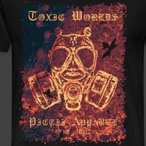 TOXIC WORLDS - 3D - Men's Premium T-Shirt