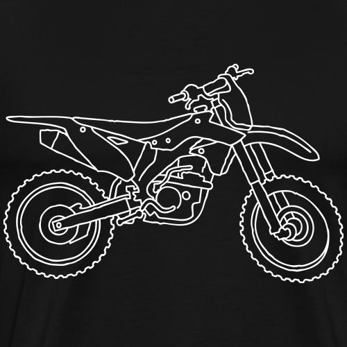 Motocross Motorrad - Männer Premium T-Shirt