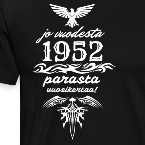 Parasta vuosikertaa, 1952 - Miesten premium t-paita