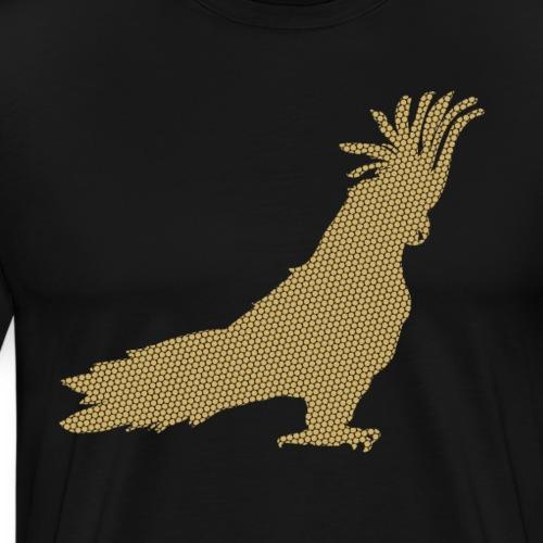 Papagei Gold - Männer Premium T-Shirt