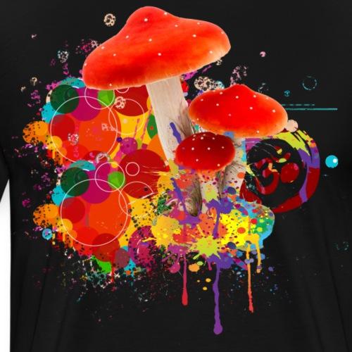 Mushroom Om Zeichen