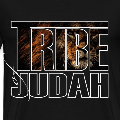 The Lion is of the Tribe of Judah Jesus - Männer Premium T-Shirt