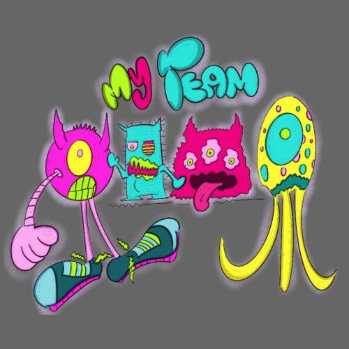 my team - Camiseta premium hombre