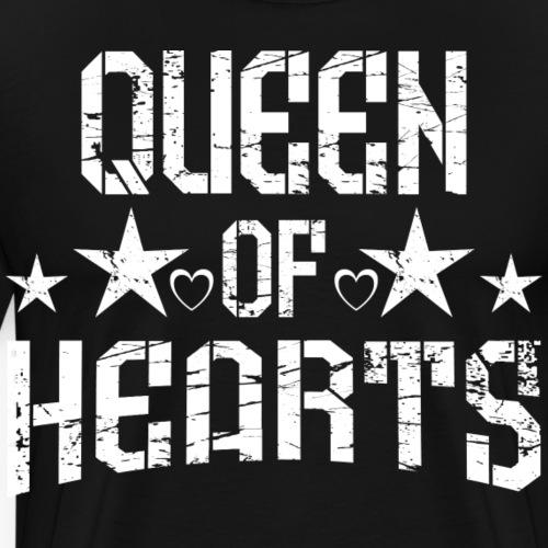 109 Queen of Hearts - Männer Premium T-Shirt