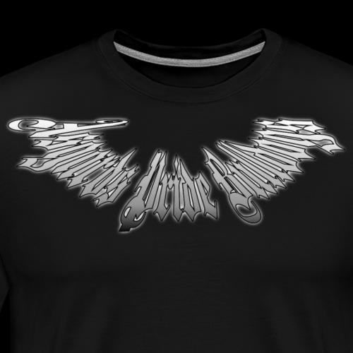 Stachelhalsband Farbverlauf - Männer Premium T-Shirt