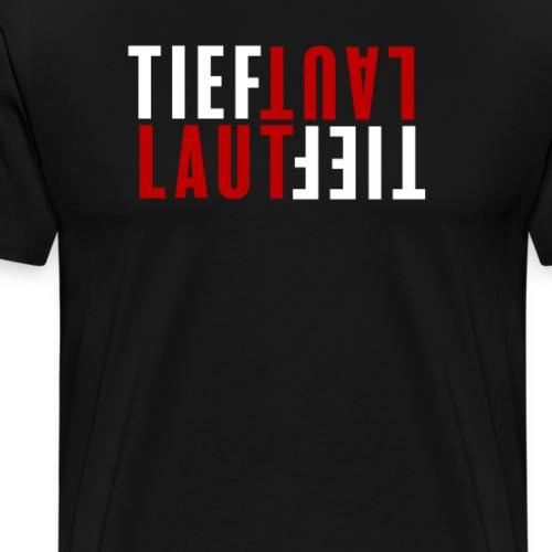 Tief und Laut Simples Schrauber Shirt für Tuner - Männer Premium T-Shirt