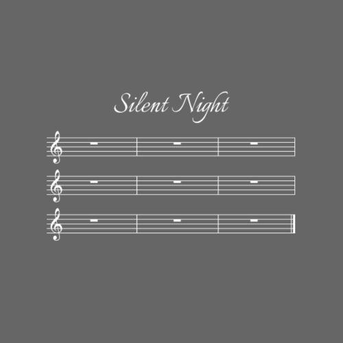 Silent Night - die wirklich stille Weihnachtsnacht - Männer Premium T-Shirt