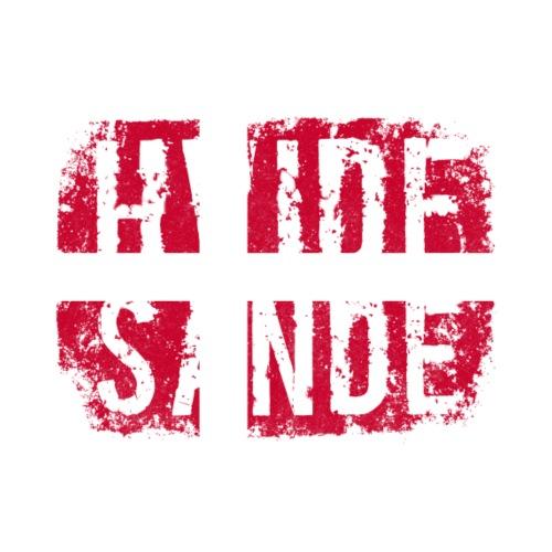Hvide Sande, Westjütland, Dänemark, Nordsee - Männer Premium T-Shirt