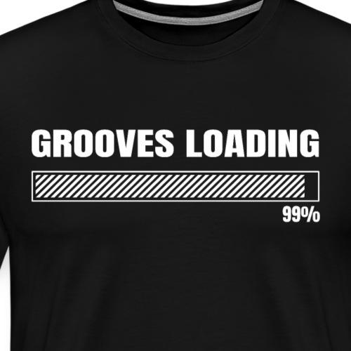 Grooves Loading - Schlagzeuger T-Shirt - Männer Premium T-Shirt