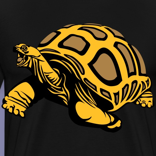 Turtle - Mannen Premium T-shirt