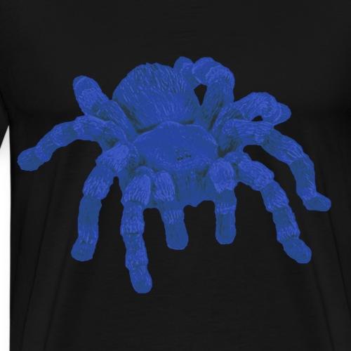 Blaue Spinne - Männer Premium T-Shirt