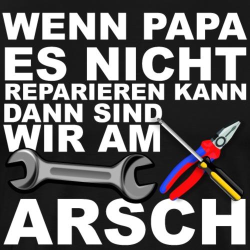 Heimwerker Papa - Männer Premium T-Shirt