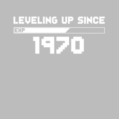 leveling up since 1970 - Männer Premium T-Shirt