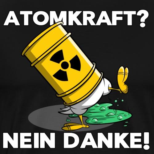 Atomkraft - Nein Danke - Männer Premium T-Shirt