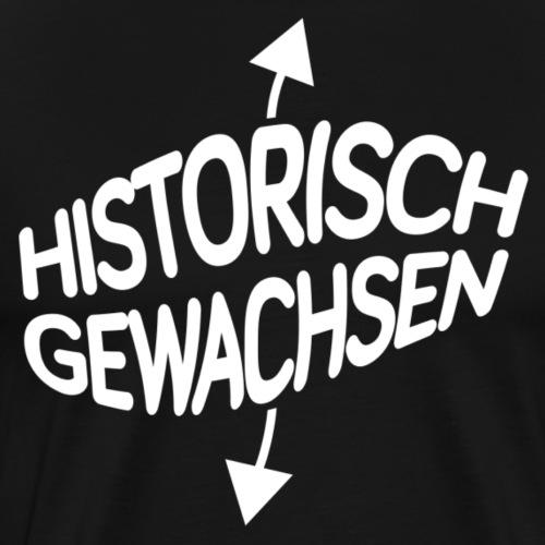 Historisch gewachsen - Männer Premium T-Shirt