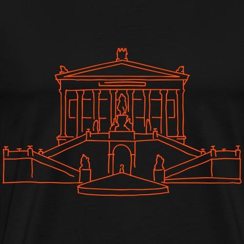 Alte Nationalgalerie de Berlin - T-shirt Premium Homme