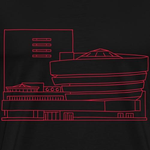 Guggenheim Museum NY - Männer Premium T-Shirt