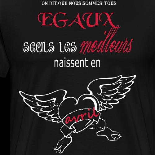 avril - T-shirt Premium Homme
