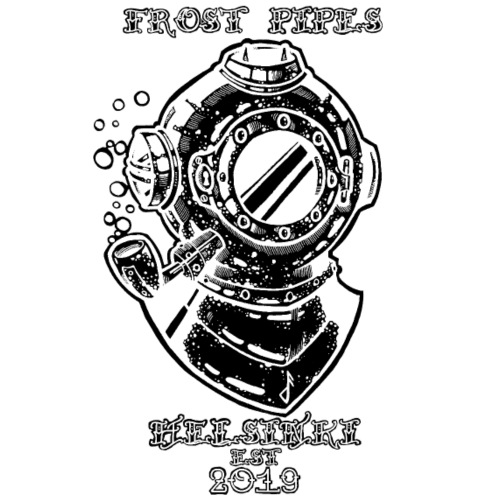 The Nautical Piper by Frost Pipes - Men's Premium T-Shirt