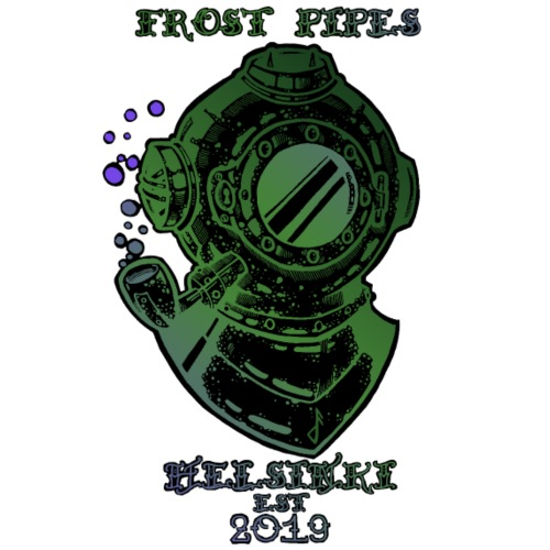 Frost Pipes The Eldritch Nautical LIMITED EDITION - Men's Premium T-Shirt