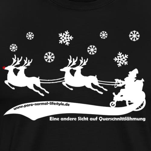 Weihnachtsmann white - Männer Premium T-Shirt